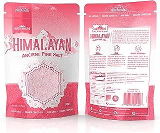 Healthy Himalayan Pink Salt - Fine - 1 LB