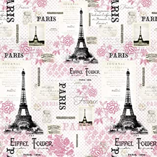Best pink paris fabric Reviews