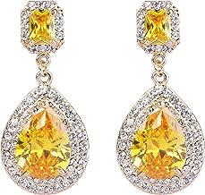 Best rhinestone pageant earrings Reviews