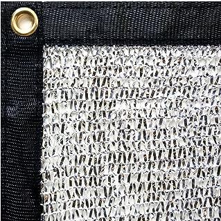 Stone Shade & Tarps 40% Aluminet Shade Net + 10pcs strong magnets 12x24
