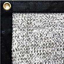 40% Aluminet Shade Net+10pcs Bungee Cords 12x12