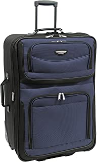 """Amsterdam 29"""" Expandable Rolling Upright Luggage, Navy"""