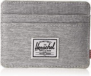 Herschel Charlie RFID, Light Grey Crosshatch, One Size