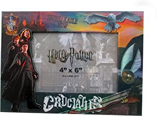 Harry Potter Gryffindor Cruciatus Unbreakable Vow Magnetic 4 X 6 Picture Frame