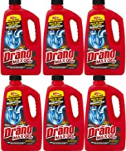 Drano Max Gel, Clog Remover, 80-Ounce, 6-Pack