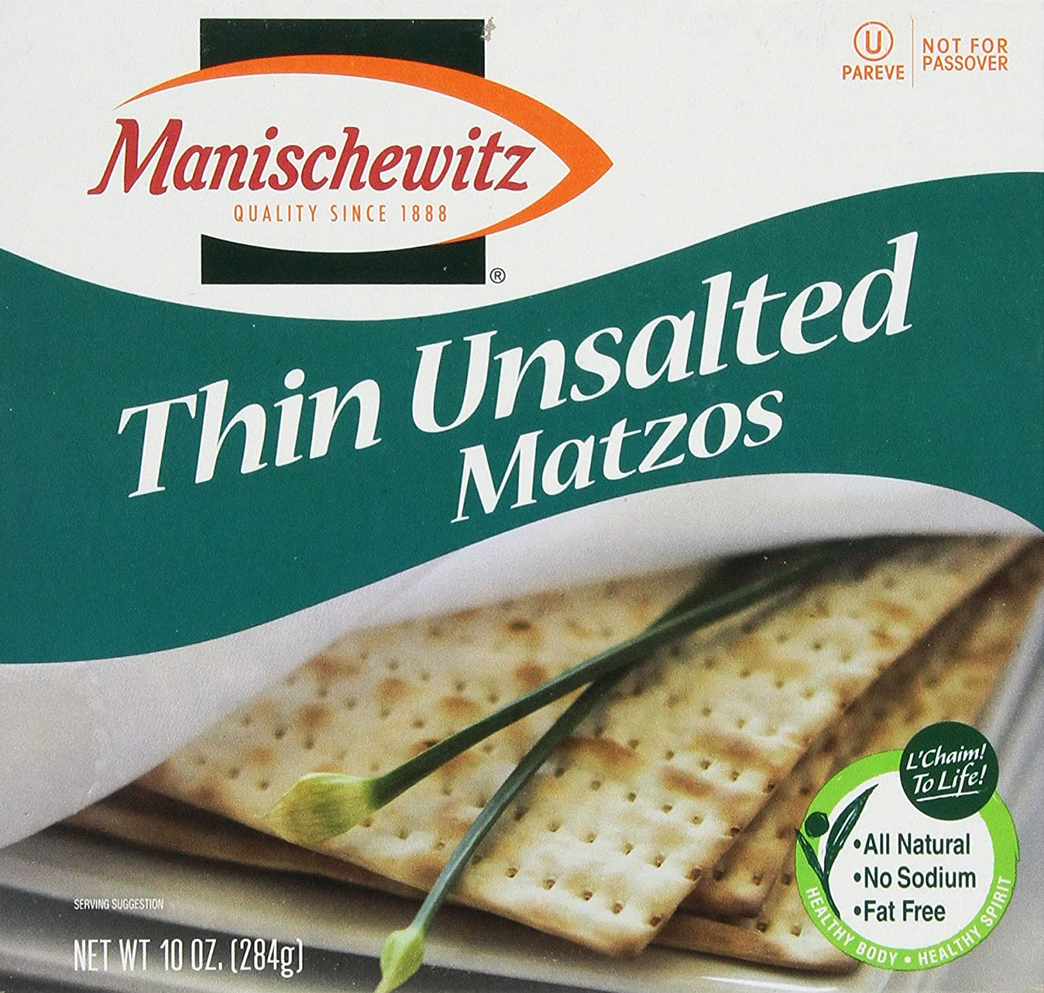 MANISCHEWITZ Thin Unsalted Matzo Max 74% OFF 10-Ounce Pack Boxes Chicago Mall 8 of