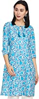Amazon Brand - Myx Women's Cotton Regular Kurti
