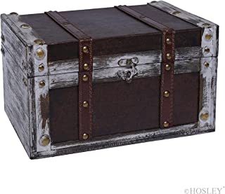 Hosley Decorative Storage Box 11 Inch Long. Ideal Gift for Study Den Memories Dorm Home Weddings Spa Reiki Meditation O4