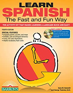 Learn Spanish the Fast and Fun Way: The Activity Kit That Makes Learning a Language Quick and Easy!