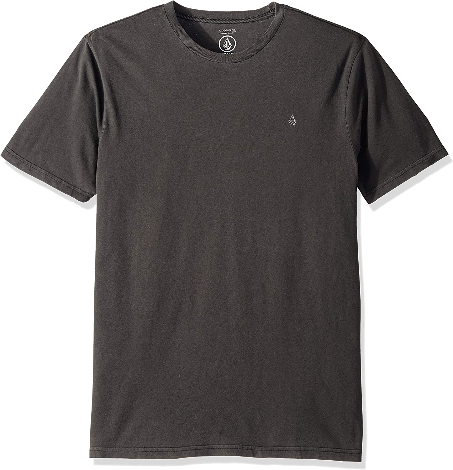 Volcom Men's Solid Stone Embroidered Short Sleeve Tee 新色 実物