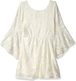 ivory lace crochet dress
