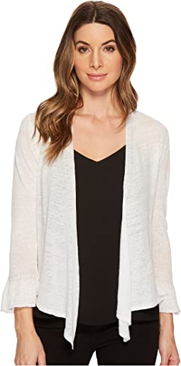 NIC+ZOE Ruffle Cuff Four-Way Cardy