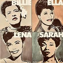 Billie, Ella, Lena, Sarah - Columbia Jazz Odyssey Mono Vinyl LP PC36811 (1980)