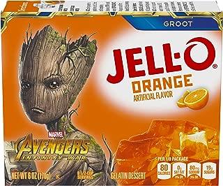 JELL-O Orange Avengers Gelatin Dessert Mix (6 oz Box)