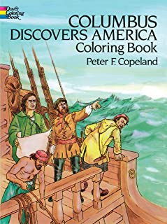 Columbus Discovers America Coloring Book