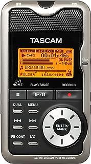 TASCAM リニアPCMレコーダー 24/96対応 ブラック DR-2d B
