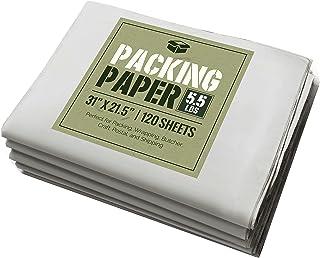 """Newsprint Packing Paper: 5.5 lbs (~125 Sheets) of Unprinted, Clean Newsprint Paper, 31"""" x 21.5"""""""