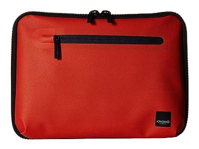 KNOMO London 10.5 Thames Collection Knomad Tech Organizer (Flash Orange) Bags