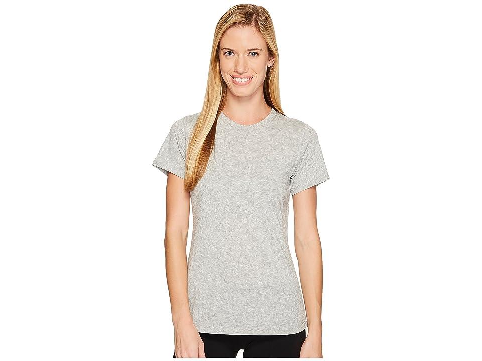 New Balance Heather Tech Tee (Athletic Grey) Women