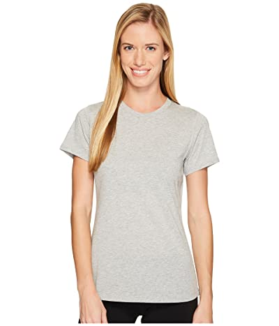 New Balance Heather Tech Tee (Athletic Grey) Women