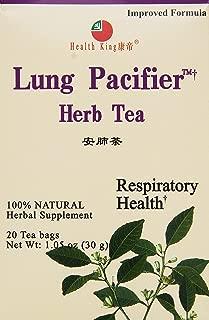 Health King Medicinal Teas Lung Pacifier Herb Tea Bags, 20 Count