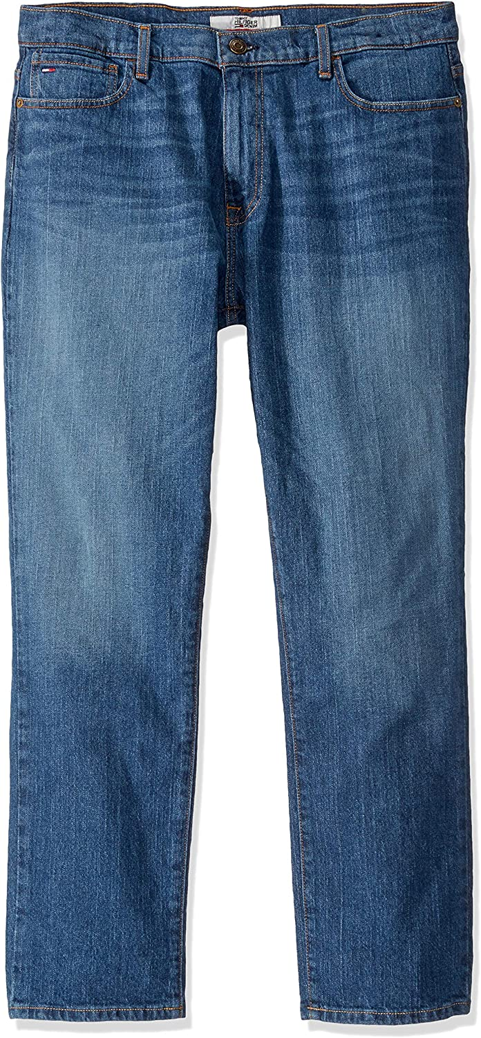 Tommy Hilfiger Houston Mall Men's Free Shipping Cheap Bargain Gift THD Jeans Straight Fit