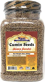 Sponsored Ad - Rani Cumin Seeds Whole (Jeera) Spice 30oz (857g) Nearly 2lbs! PET Jar ~ All Natural | Gluten Friendly Ingre...