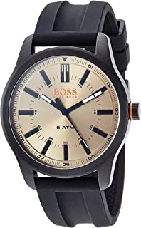 Hugo Boss Orange Mens Analogue Classic Quartz Watch with Silicone Strap 1550045