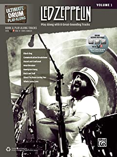 Ultimate Drum Play-Along Led Zeppelin, Vol 1: Authentic Drum (Book & 2 CDs): LED Zeppelin, Volume 1