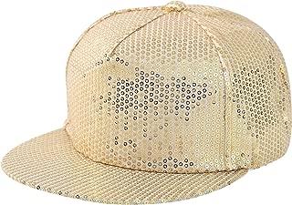 ZLYC Unisex Adjustable Hip Hop Snapback Hats Flat Brim Baseball Cap