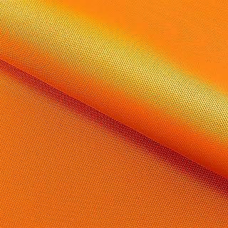 NOVELY Oxford 210D | Polyester | anschmiegsam nachgiebig | Meterware Segeltuch Orange