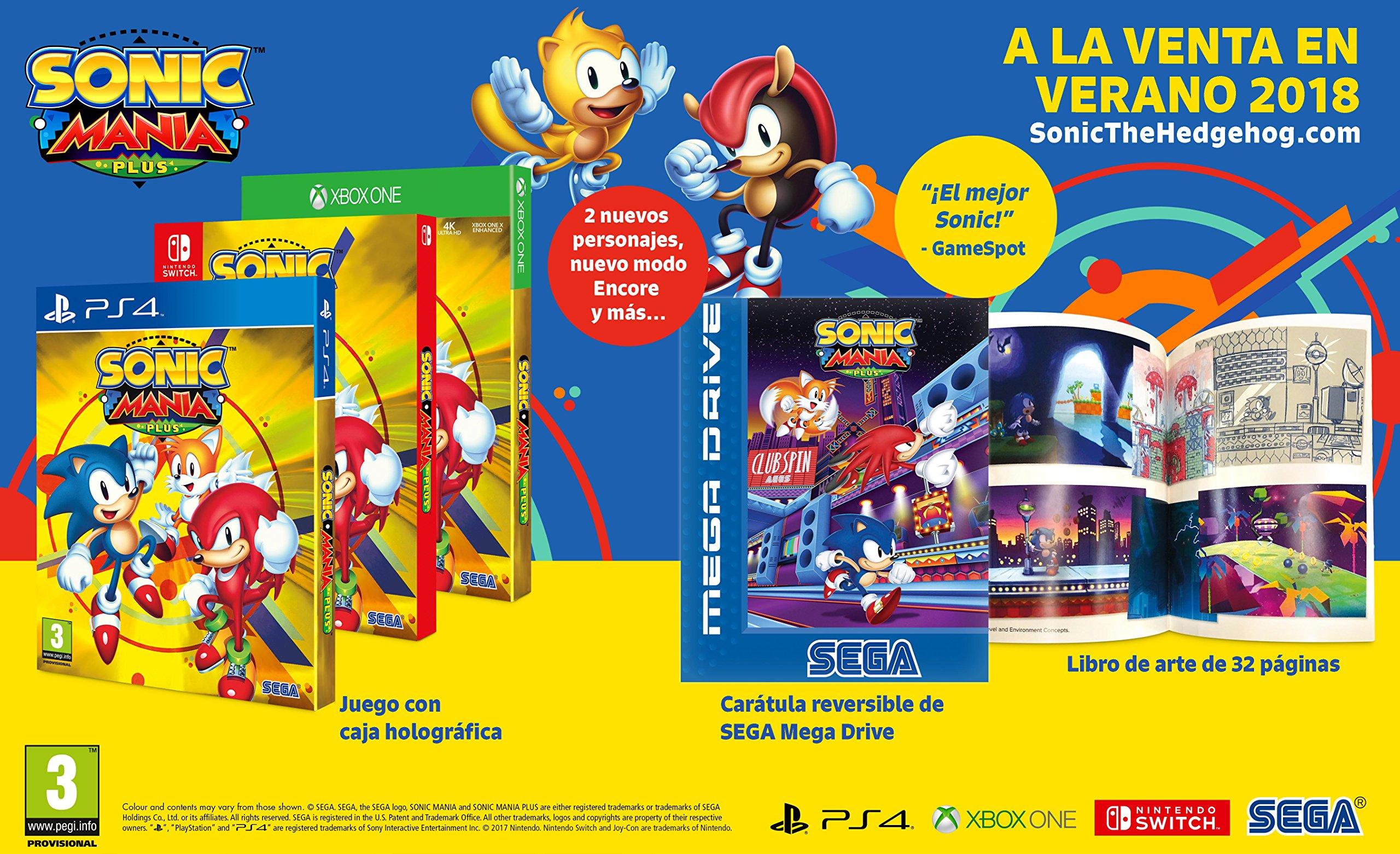 Sonic Mania Plus: Amazon.es: Videojuegos