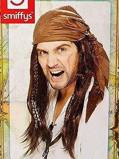 Smiffy's Buccanneer Pirate Wig