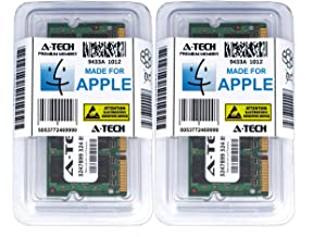 A-Tech for Apple 6GB Kit (1x2GB 1x4GB) DDR2 667MHz PC2-5300 200-pin SODIMM for MacBook (Late 2007, Early 2008, Early 2009), MacBook Pro (Mid 2007, Early 2008), iMac (Mid 2007) - Memory RAM Upgrade
