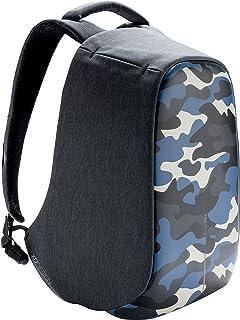 XD Design Bobby Compact Print Mochila Antirrobo Camouflage Azul (Bolsa USB)
