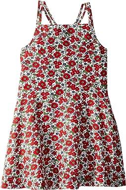 Floral Linen-Cotton Dress (Toddler)