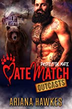 Protector Mate: Bear Shifter Romance (MateMatch Outcasts Book 2) (English Edition)