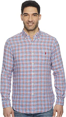 Polo Ralph Lauren - Linen Long Sleeve Sport Shirt