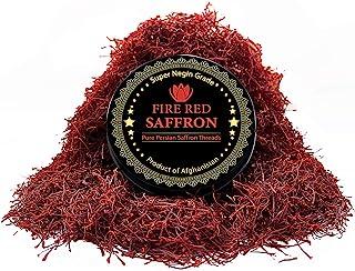 Premium Saffron Threads, Pure Red Saffron Spice Threads | Super Negin Grade | Highest Quality and Flavor | For Culinary Us...