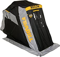 Frabill Recon 100 Flip-Over Shelter with Pad Trunk Seat 5000708