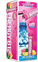 Zipfizz Healthy Energy Drink Mix, Hydration with B12 and Multi Vitamins, Pink Lemonade, 20 Count