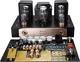 Nobsound EL34 Pure Vacuum Tube Amplifier Single-Ended Class A HiFi Stereo Power Amp 12W+12W (DIY Kit)