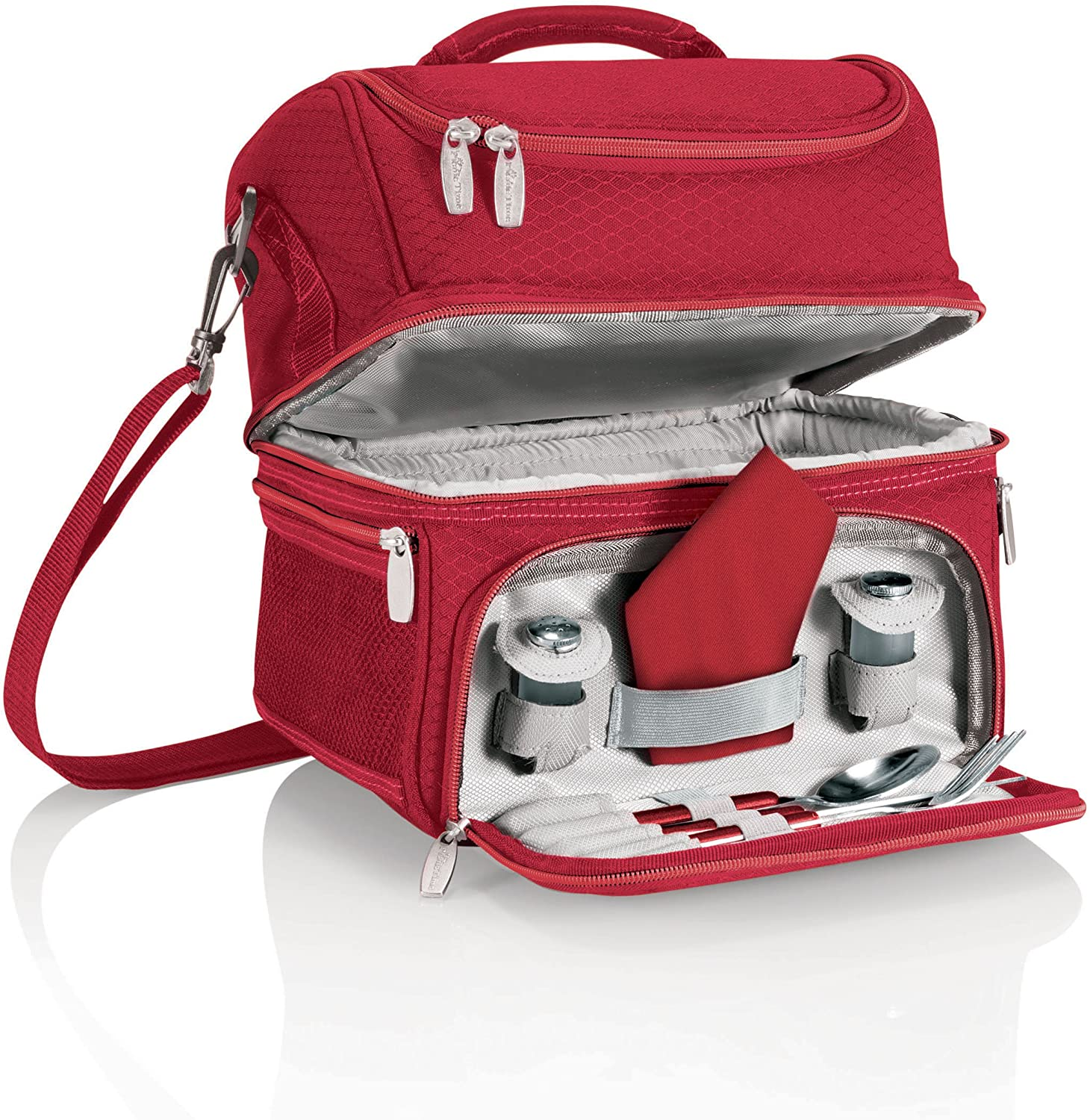 ONIVA - Translated a Picnic Time Brand Insulated Tote Red Our shop most popular Pranzo Lunch