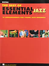 The Best of Essential Elements for Jazz Ensemble Guitar
