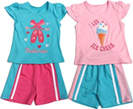 Just Love Two Piece Short Set (Pack of 2)