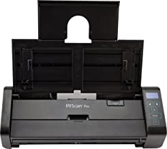 $199 » IRIScan Pro 5 Color Portable Duplex Document Scanner, Auto Document Feeder (ADF) 20Pages, Ultra Speed 23PPM, 1 Click scan to PDF, Full OCR 138 Languages, Scan to JPG/PDF/Word/Excel/Cloud