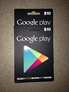 $20 in Google Play Gift Cards