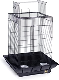 Prevue Hendryx SP851B/B Clean Life Play Top Cage, Black