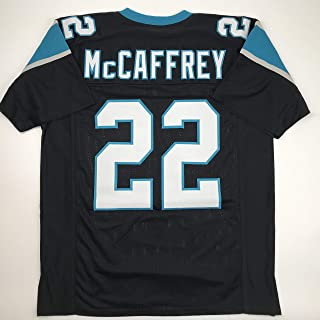 Unsigned Christian McCaffrey Carolina Black Custom Stitched Football Jersey Size Men's XL New No Brands/Logos
