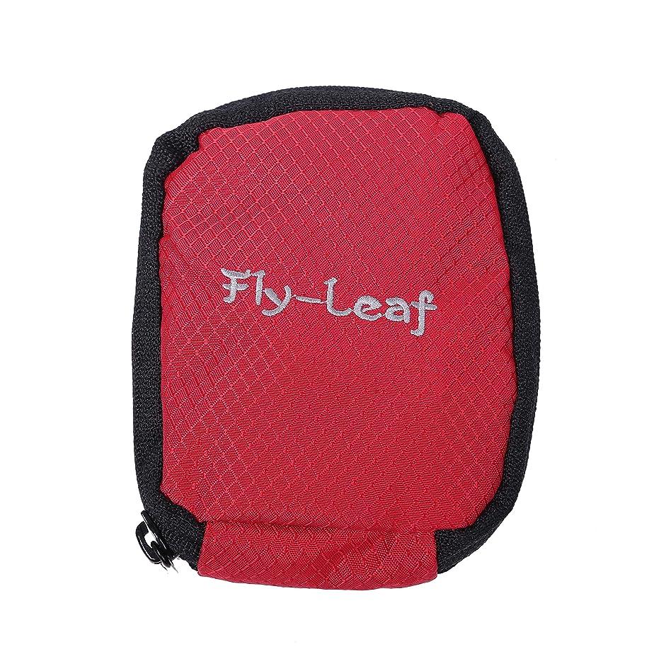 予想する責める遺伝子[スプレンノ] ペットボトル ホルダー カバー 水筒 折り畳み傘 収納 (赤)